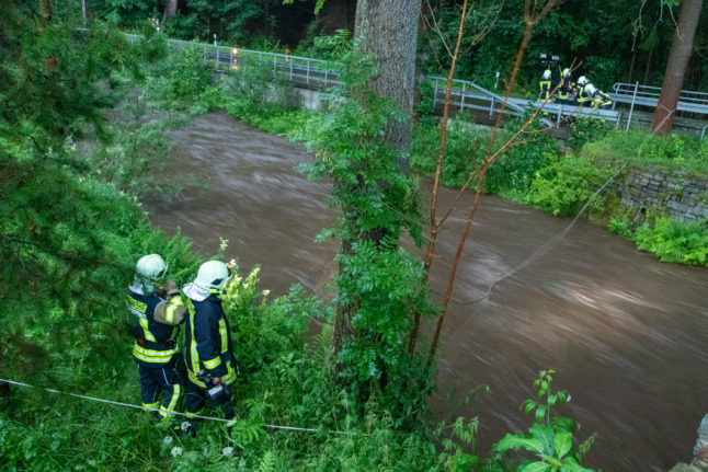 Germany braces for more torrential rain as some areas hit by severe flooding