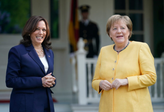 'History': Merkel visits White House for last time as Chancellor