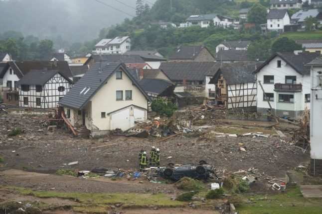 Death toll rises to 133 after flood disaster in western Germany