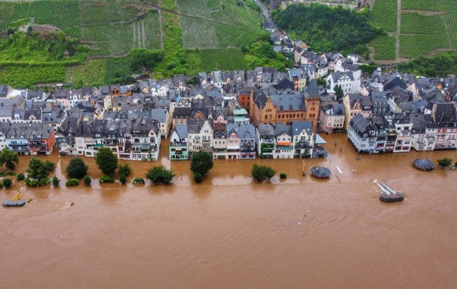 EXPLAINED: How the extreme flooding in Germany is linked to global warming