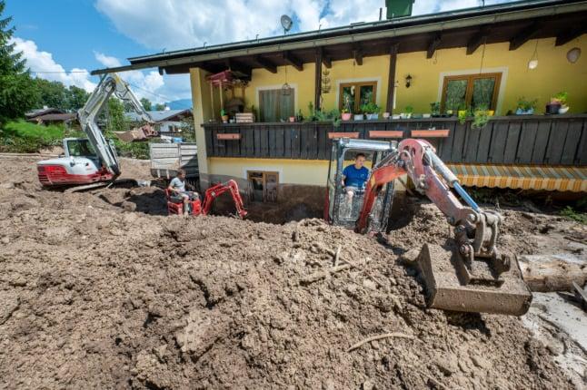 Rebuilding Germany's flood-ravaged areas 'could take years'