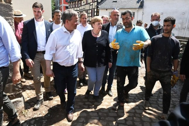 UPDATE: Germany approves €400 million relief package for flood-hit regions and survivors