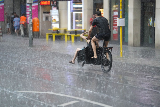WEATHER: Heavy rain and lightning forecast this week across Germany