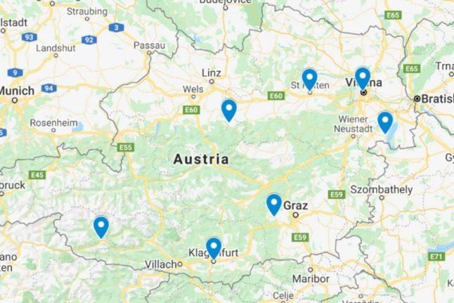 MAPS: Where are Austria's new coronavirus hotspots?
