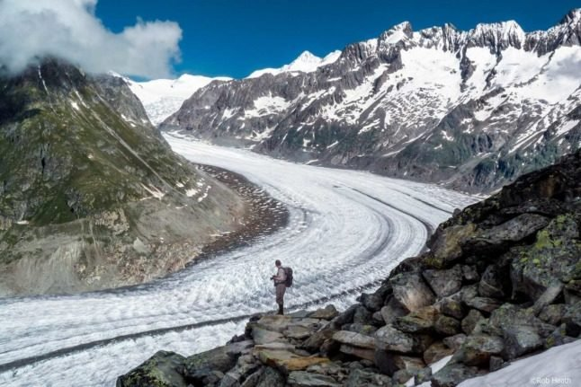 Climate change: Glacial melt in Switzerland has created 1,000 new lakes