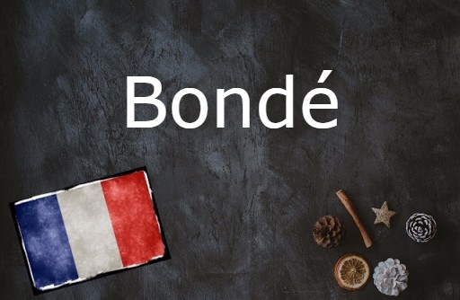 French word of the day: Bondé