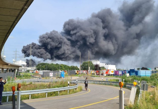 'Dark day for Leverkusen': Two dead and five missing after blast at German chemical park