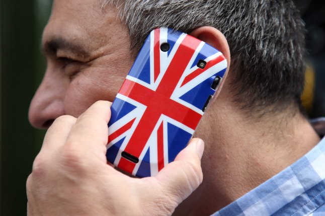 German phone companies rule out Brexit roaming charges in 2021