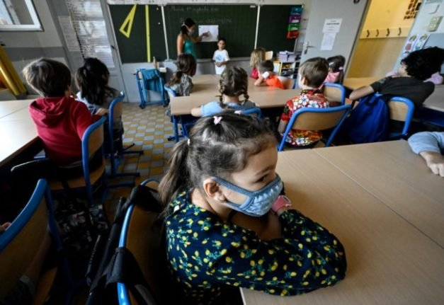 MAP: The areas of France that are scrapping mask requirements in schools