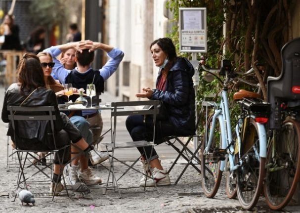 What changes about life in Italy in October 2021?