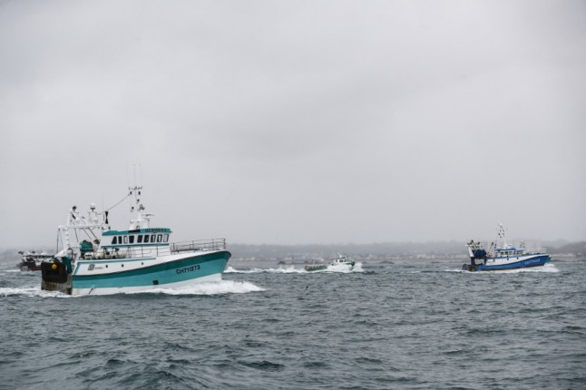 French threaten retaliation over refusal of post-Brexit fishing licences