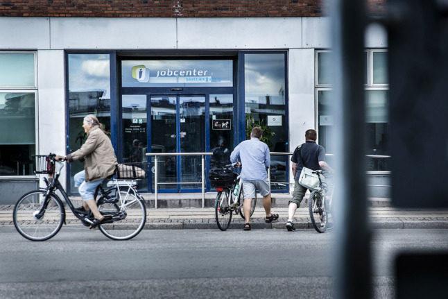 Why does Denmark have so many job vacancies?
