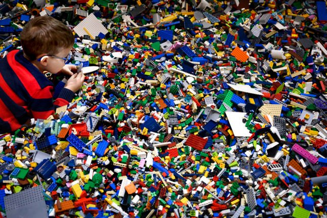 Lego profits tower to new heights as stores reopen