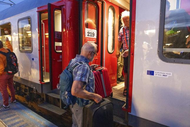 Could Oslo-Copenhagen overnight train be set for return?