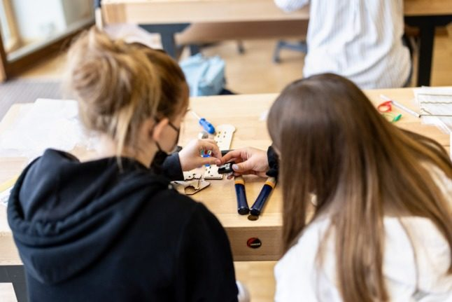 Three German states relax Covid mask rules in schools