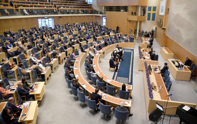 Tense political season ahead as Swedish lawmakers return to parliament
