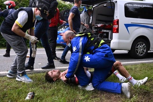 Tour de France spectator on trial for causing crash