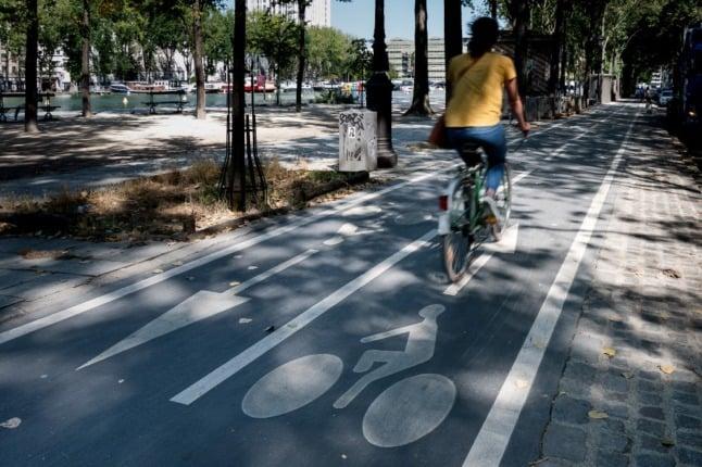 How Paris will spend €250 million on making city '100 % bike friendly'