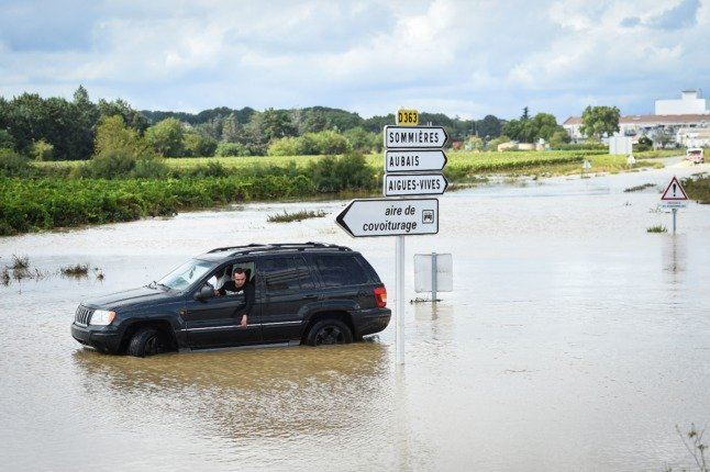 LATEST: Residents in southern France urged to stay home amid more torrential rain and floods