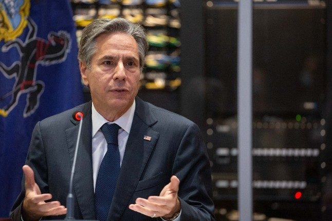 Blinken seeks to patch up ties on France trip after submarine spat