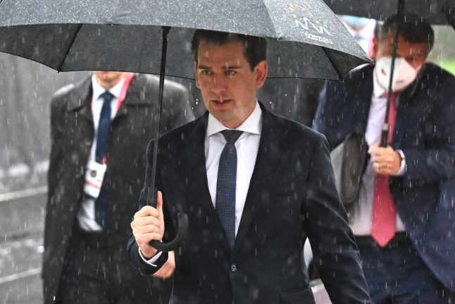 Offices of Austrian Chancellor Kurz's party raided in Vienna