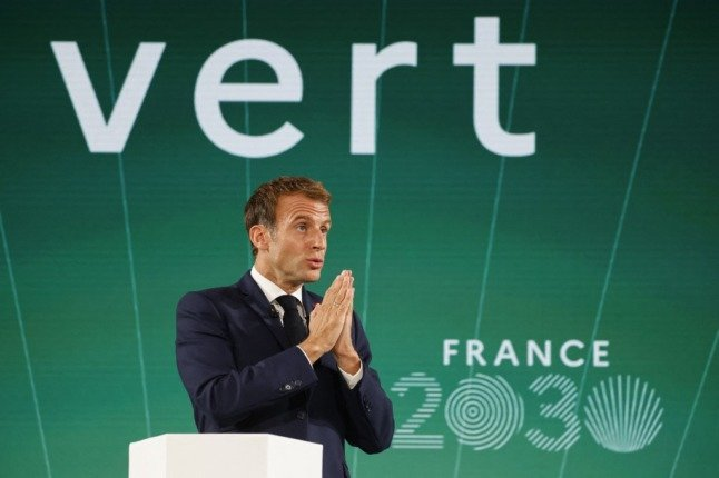 KEY POINTS: How Macron plans to transform France by 2030