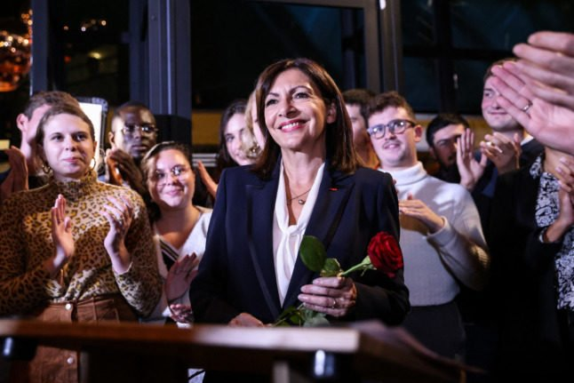 Paris mayor Hidalgo wins Socialists' presidential nomination