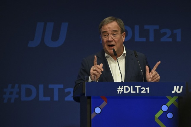 Germany's Laschet takes rap for CDU's poll drubbing