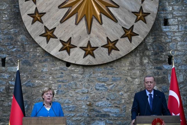 Germany's Merkel vows continuity on last visit to Erdogan in Turkey