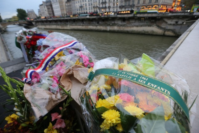 The 'forgotten' Paris demo that ended in a massacre