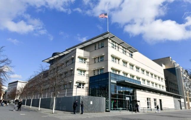 Berlin police investigate 'Havana syndrome' sicknesses at US embassy