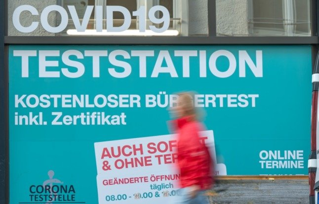 Who can still get free Covid tests in Germany?
