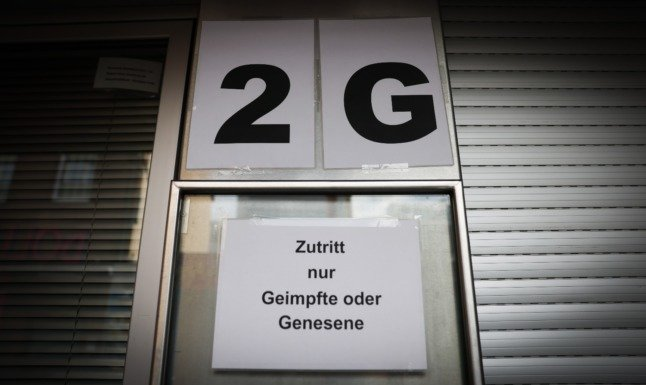 Should retailers in Germany be allowed to exclude unvaccinated people from entry?