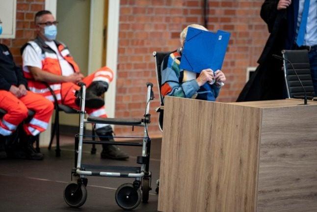 'I am innocent': former Nazi guard, 100, tells German court