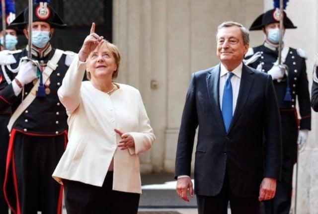 'We'll miss you': Merkel gets fond farewell in Rome