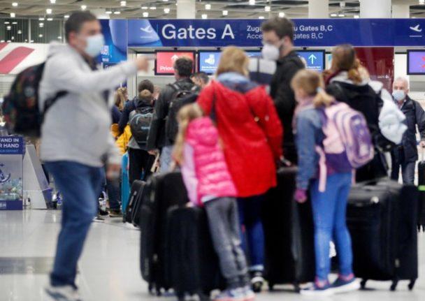 Passengers face chaos at German airports during autumn holidays