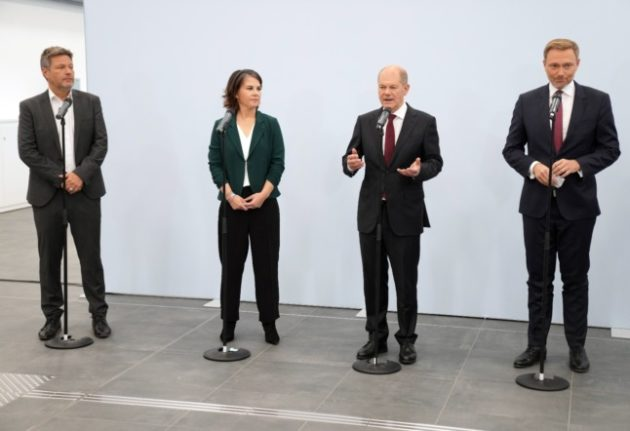 Germany's Social Democrats, Greens and FDP aim to form new government