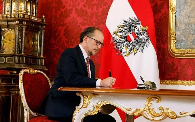 Austria's new leader sworn in amid corruption scandal