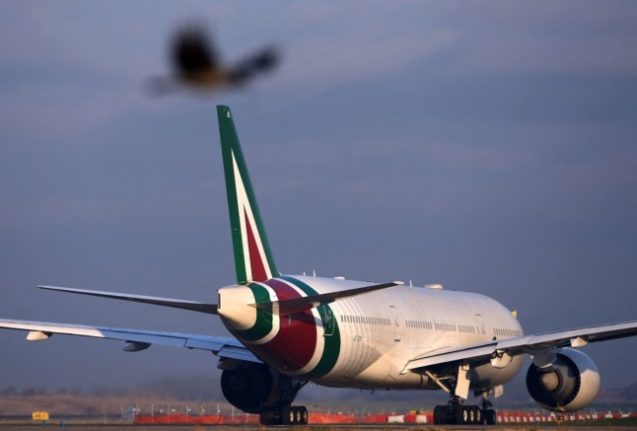 Alitalia prepares to touch down for the last time