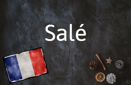 French word of the day: Salé