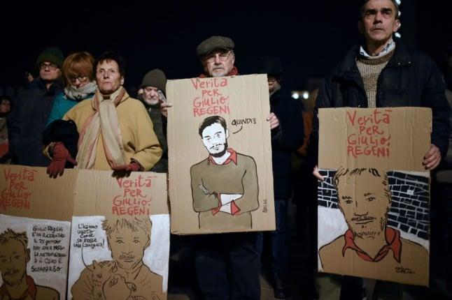 Giulio Regeni: Italian court stops trial of Egyptians over student's murder