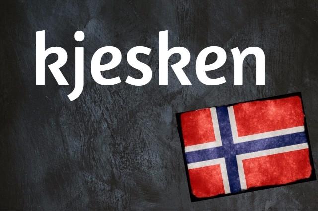 Norwegian word of the day: Kjesken