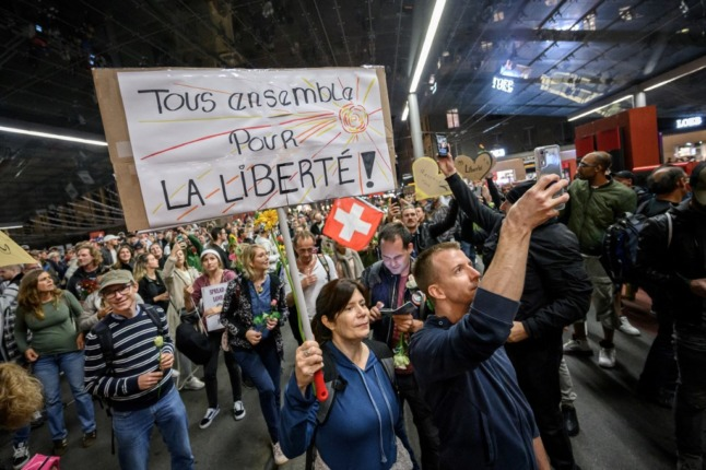 Why Switzerland's Covid certificate is 'not discriminatory'
