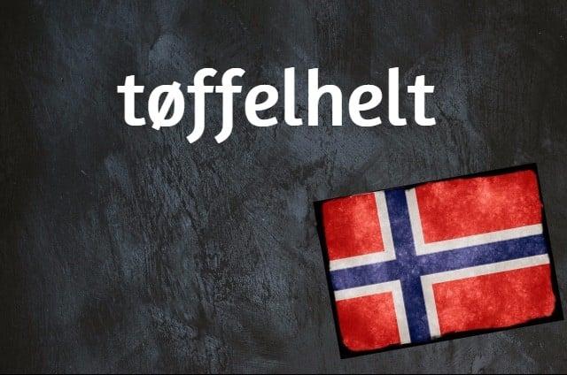 Norwegian word of the day: Tøffelhelt